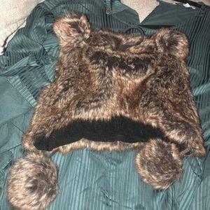 Girls bear hat